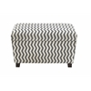 Benzara The Must-Have Set Of 2 Wood Fabric Strong Ottoman