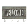 "Benzara Awesome Wood Metal Welcome Wall Hook 24""W, 15""H"