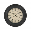"Benzara Marvelous Wood Wall Clock 24""D"