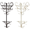 Wonderful Styled Metal Wall Coat Rack 2 Assorted