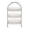 Attractive Styled Metal Basket 3 Tier Tray