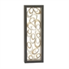 Extraordinary Metal Wall Panel, Silver, Black, Gold