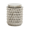 Benzara Perfect Ceramic Silver Jar
