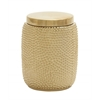 Benzara Artistic Ceramic Gold Jar