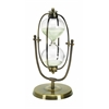 Benzara Metal/Glass 30 Minutes Hourglass Entertaining Table Decor