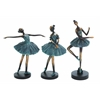 Benzara Set Of 3 Ballerina Figurines