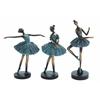 Benzara Set Of 3 Ballerina Figurines