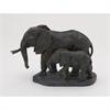 Amiable Ps Elephants, Black & Rustic Gold