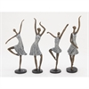 Classic, Grey, Rustic Gold, Set Of Four Ps Ladies