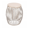 The Beautiful Wood Metal Acrylic Stool