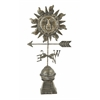 Benzara Superb Metal Sun Weather Vane