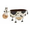 Benzara Funky Looking Metal Cow Planter
