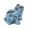 Striking Blue Frog