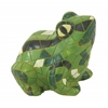 Benzara Glowing & Eye-Catching Green Frog Figurine