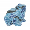 Benzara Vivid & Attractive Blue Frog Figurine