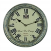 Benzara Metal Wall Clock A Vintage Metallic Clock