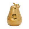 "Remarkable Ceramic Gold Pear 12""W, 16""H"