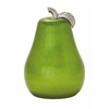 "Benzara Riveting Ceramic Green Pear 12""W, 16""H"