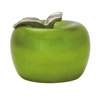 "Striking Ceramic Green Apple 11""W, 9""H"