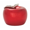 "Magnificent Ceramic Red Apple 11""W, 9""H"