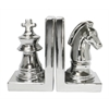 Benzara Striking Ceramic Silver Bookend