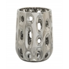 Lovely Ceramic Silver Vase