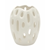 Stunning Ceramic White Vase