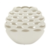 Benzara Exquisite Ceramic White Vase