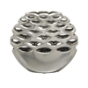 Benzara Gorgeous Ceramic Silver Vase