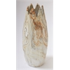 "Benzara Splendid Ceramic Dark Marble Vase 6""W, 16""H"