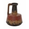 "Marvellous Ceramic Rattan Handle Pot 10""W, 12""H"