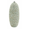 Benzara Durable Ceramic Material With Ceramic Hand Crafted Seashell Vase