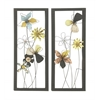 Benzara Modernly Crafted 2 Assorted Metal Wall Décor