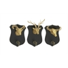 Shield Wood Ps Wall Hook Set Of 3