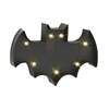 Benzara Smartly Styled Metal Led Wall Bat