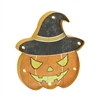 Benzara Scary Metal Led Wall Pumpkin