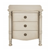Benzara Customary Styled Fancy Wood Side Chest