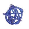 Startling Glass Knots Blue, Dark Blue