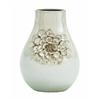 Benzara Songhua Floral Ceramic Vase