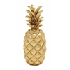 Stunning And Sparkly Golden Pineapple Décor