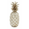 Astounding Silver Pineapple Décor