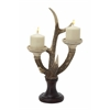 "Polystyrene Exclusive And Unique Antler Candle Stand 11""W, 19""H"