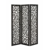 "Beautiful And Lovely 3 Panel Wooden Screen 48""W, 72""H"
