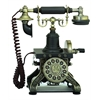 Benzara Brass Functional Antique Phone