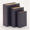 Adorable And Multipurpose Set Of 3 Wooden And Glass Book Box