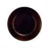 Adorable PP Plastic Round Bead Bronze Charger, Bronze