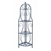 Benzara Corner Rack With Modern Interiors And Conventional Decors