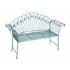 Benzara Metal Bench With Modern Or Conventional Style Décor