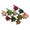 Benzara Metal Fish Wall Decor Beach Wall Art
