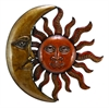 Metal Sun Moon Wall Decor Discounted Wall Art